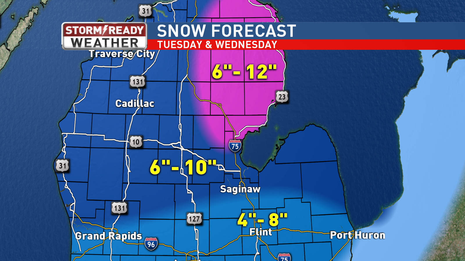 Snowfall Totals Forecast