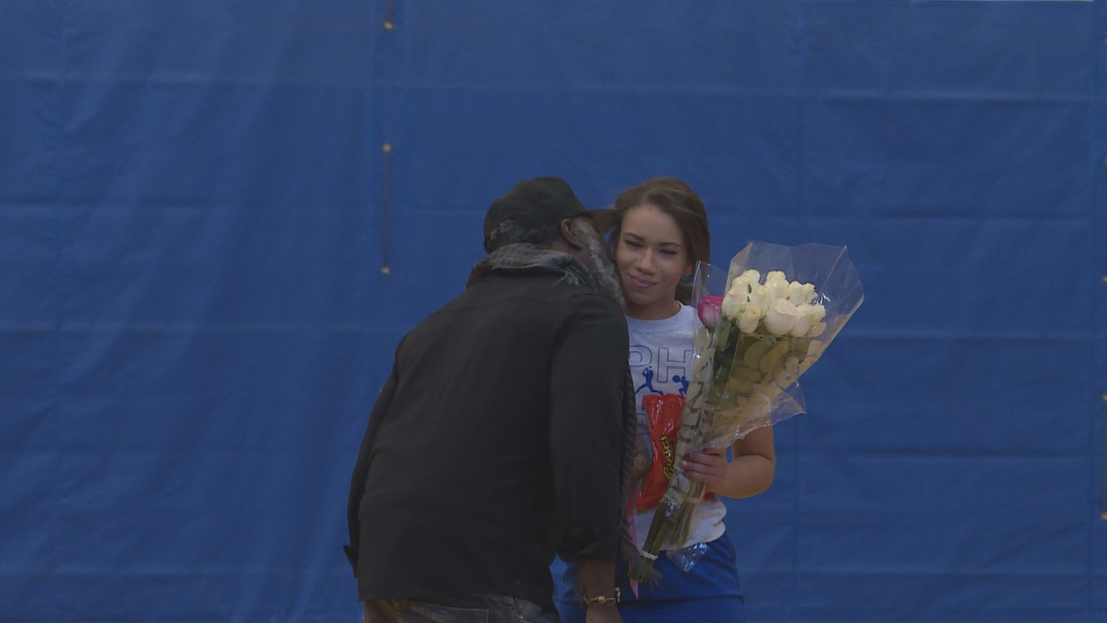 Rodney says he was excited and nervous to surprise Nevaeh. (Carsyn Currier/News 10)
