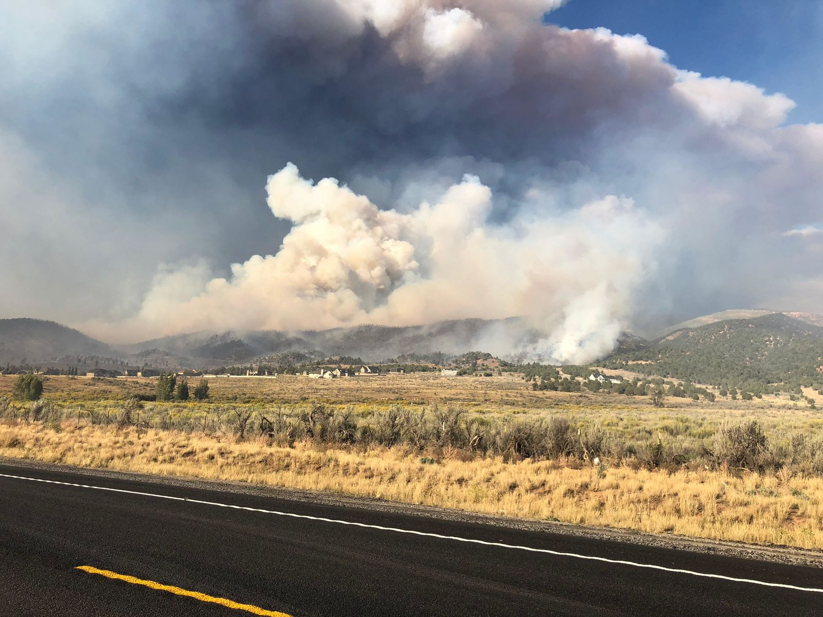 Utah has a destructive wildfire year in 2018 and hopes to improve in 2019. (Photo: RaeAnn Christensen / KUTV)