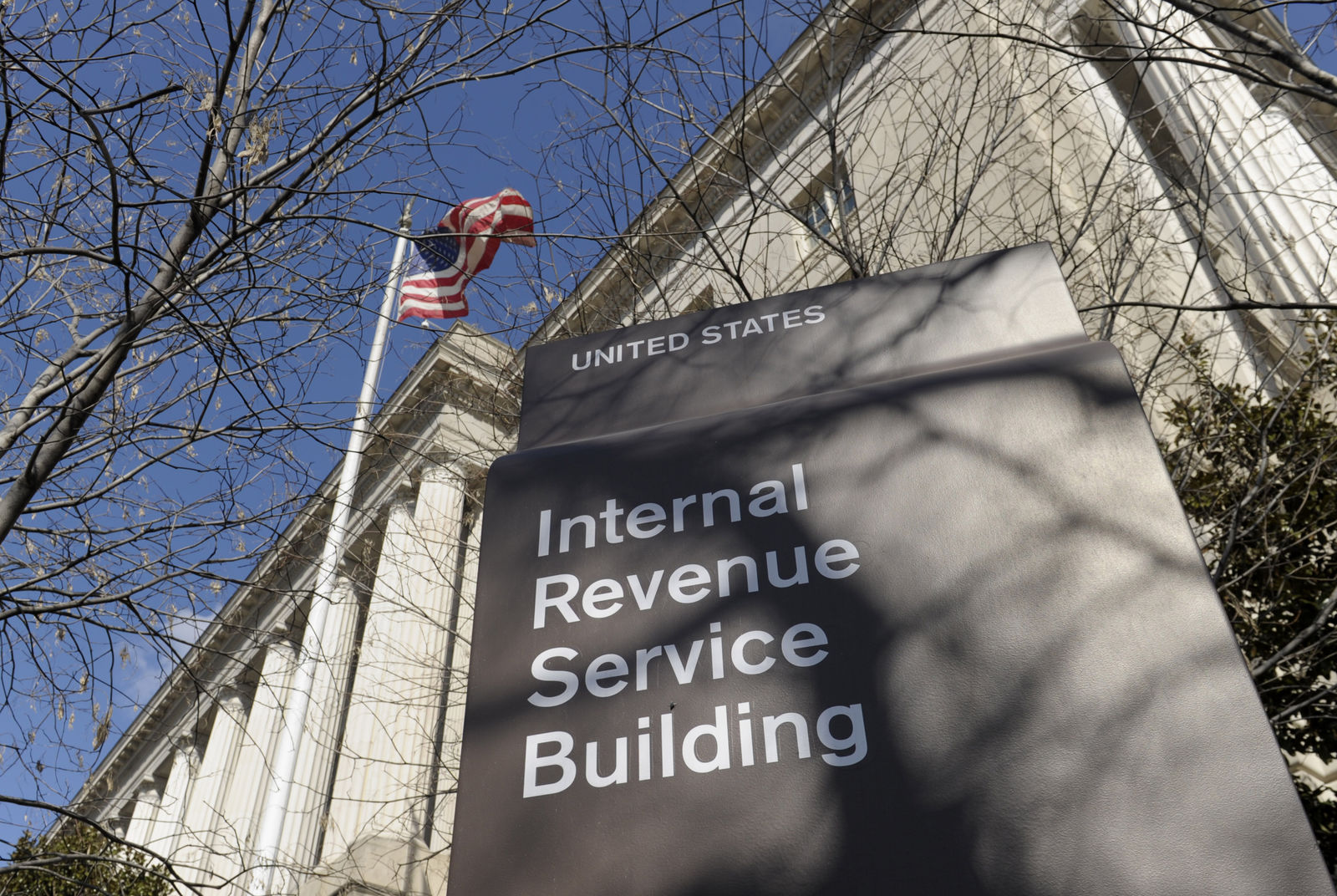 FILE - This March 22, 2013 file photo, shows the exterior of the Internal Revenue Service building in Washington. (AP Photo/Susan Walsh, File)