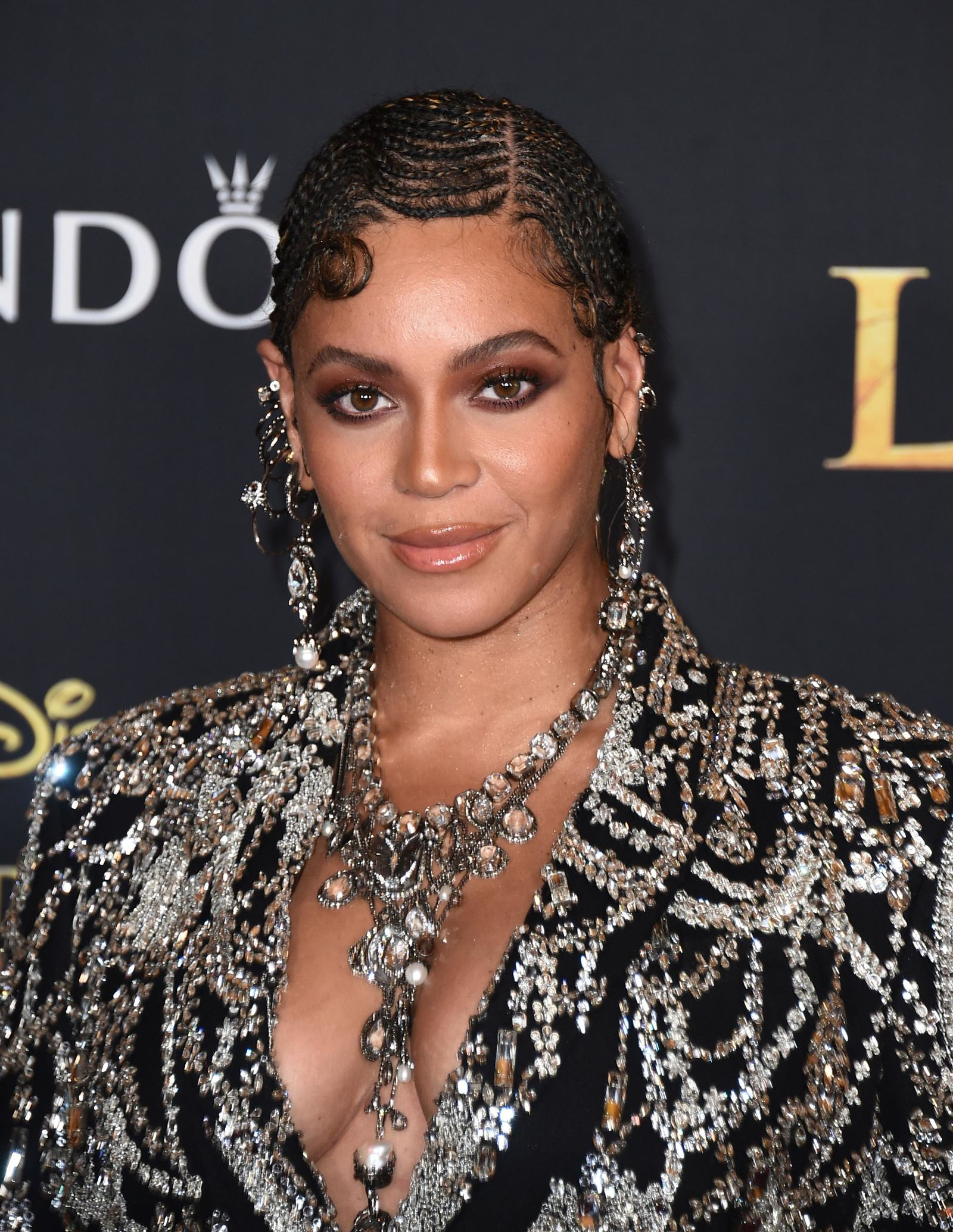 "FILE - This July 9, 2019 file photo shows Beyonce at the world premiere of ""The Lion King"" in Los Angeles. (Photo by Jordan Strauss/Invision/AP, File)"