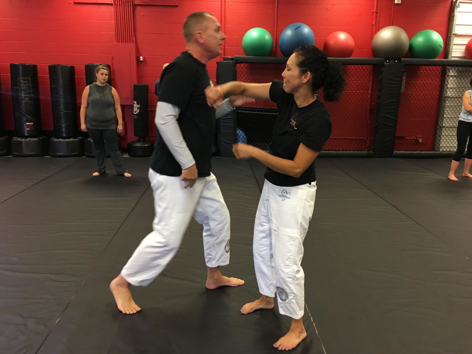 A local self defense class is teaching women how to defend against some of the most common attacks.