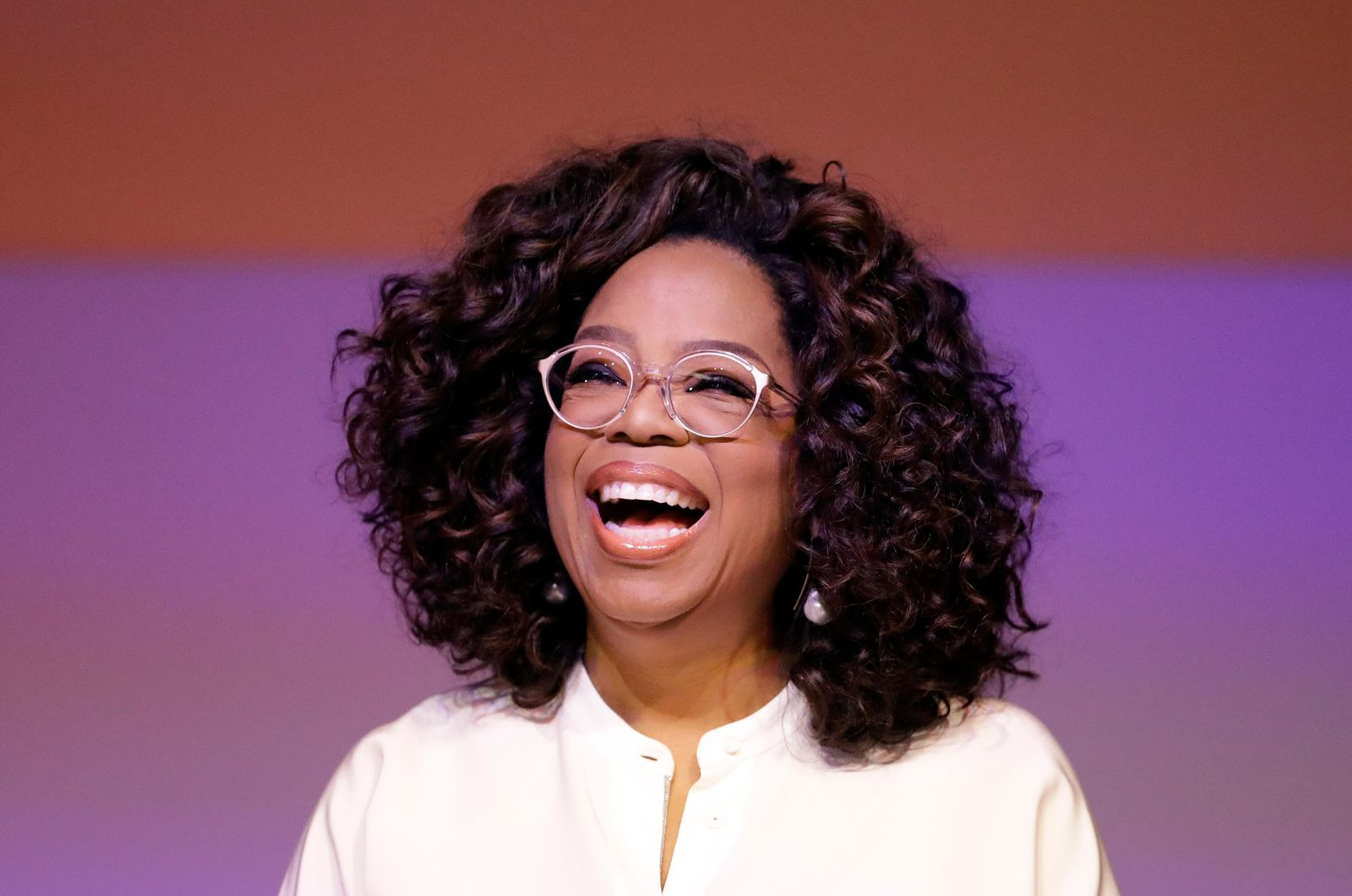 Oprah Winfrey during a tribute to Nelson Mandela and promoting gender equality event at University of Johannesburg in Soweto, South Africa, Thursday, Nov. 29, 2018. Winfrey on Thursday delivered a rousing tribute to Nelson Mandela, a century after he was born. (AP Photo/Themba Hadebe)