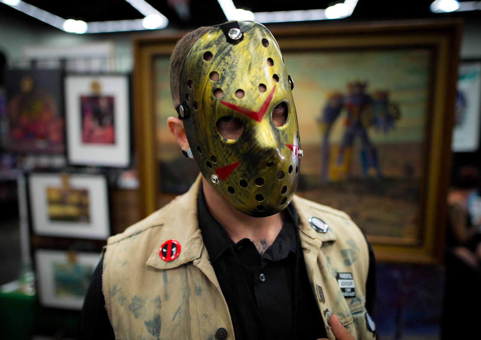 "The Rose City Comic Con is back at the Oregon Convention Center, bringing out thousands to celebrate all-things pop culture. The event kicked off on Friday the 13th, and some people dressed the part with cosplay of Jason – the iconic villain from the movie franchise. Also making an appearance Friday was ""Weird Al"" Yankovic and Robert Englund, who is celebrated for his role as Freddy Krueger. (Photo by Tristan Fortsch)"