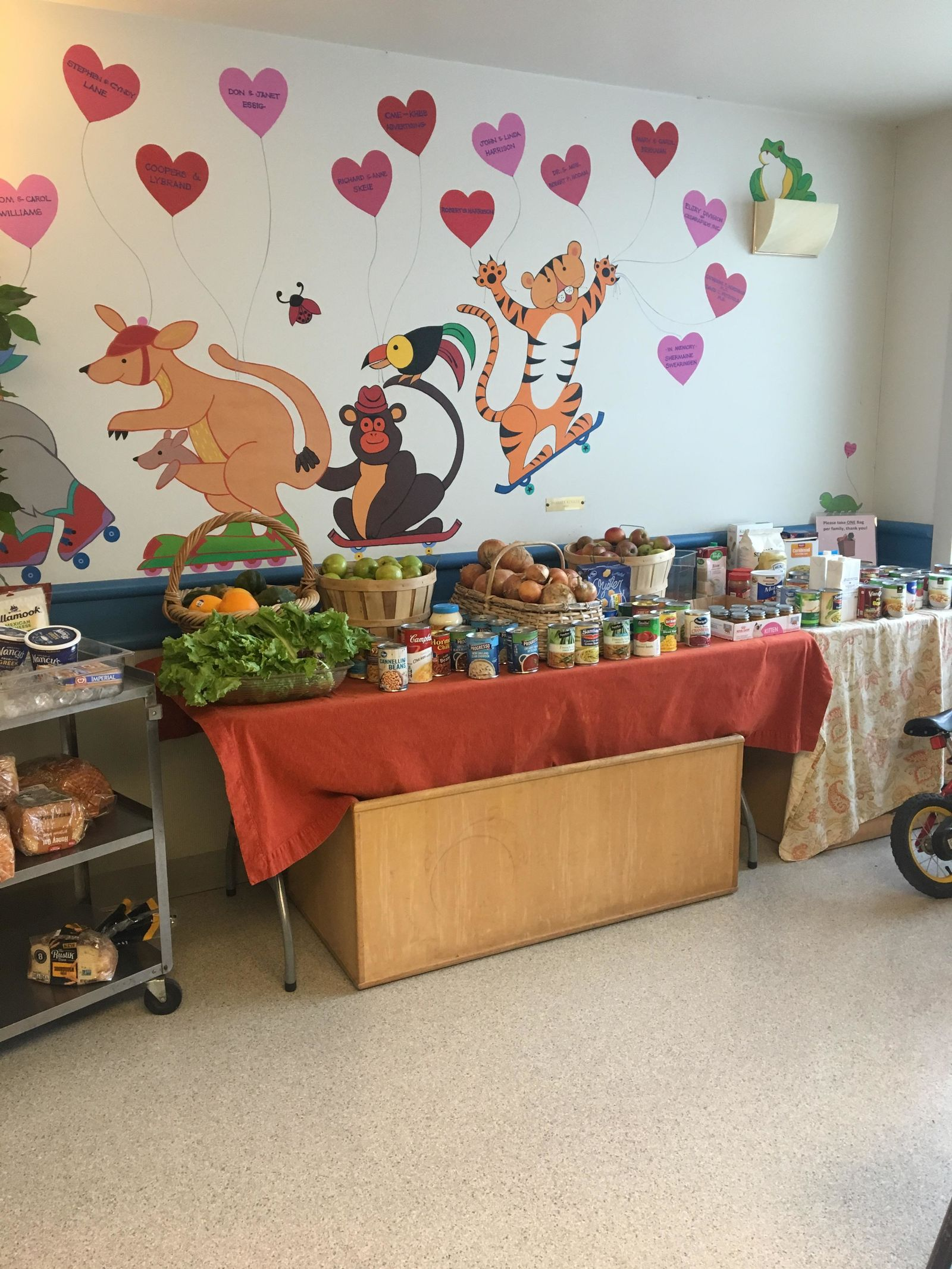 "<p>""Our goal is to prevent the need for foster care placement through access to resources and education,"" said Kristen Bartels from Relief Nursery of Eugene. She said another goal is to help families celebrate the holiday season by providing food and gifts. (SBG)</p>"