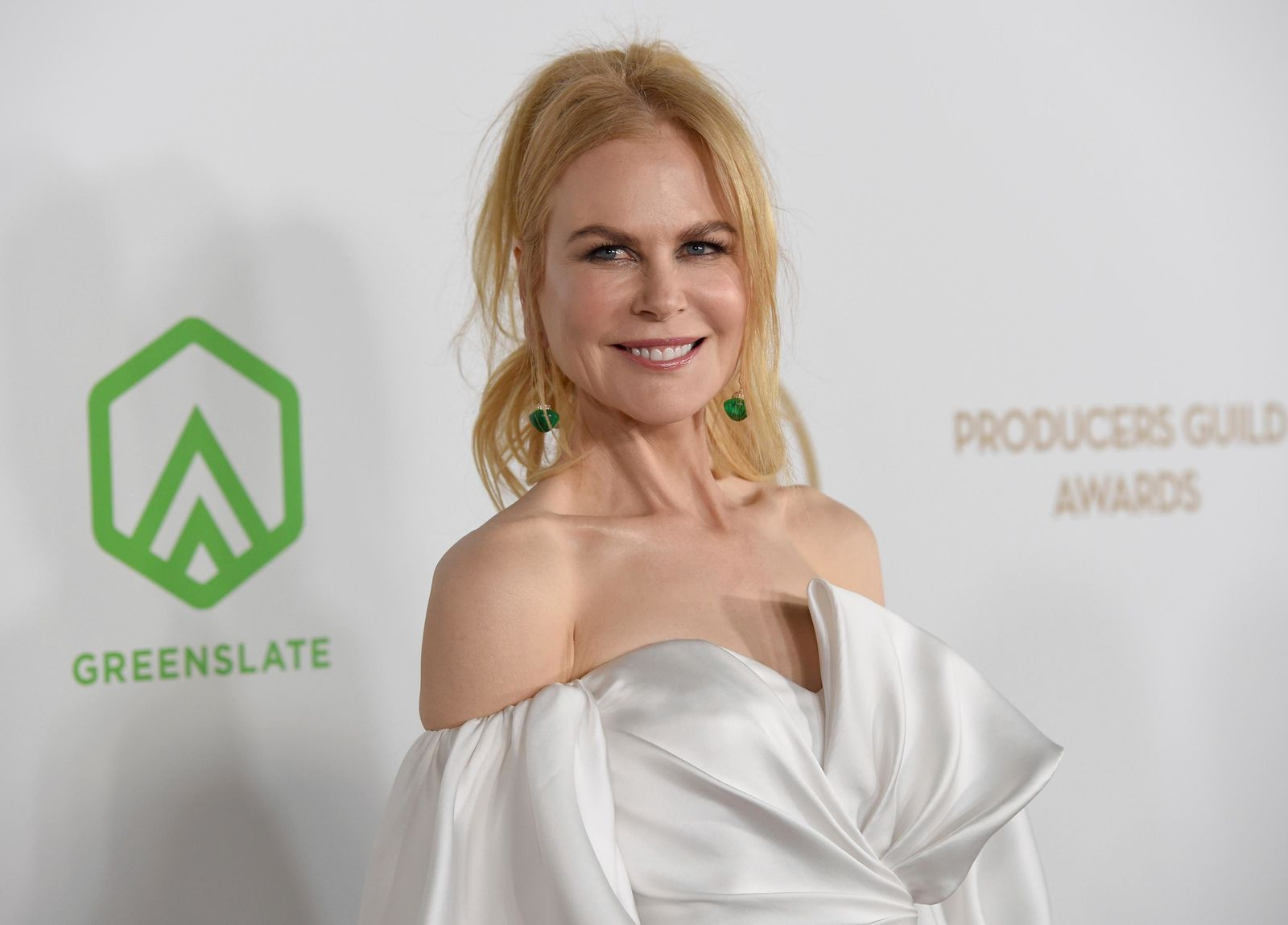 Nicole Kidman arrives at the 2020 Producers Guild Awards at the Hollywood Palladium on Saturday, Jan. 18, 2020, in Los Angeles, Calif. (AP Photo/Chris Pizzello)