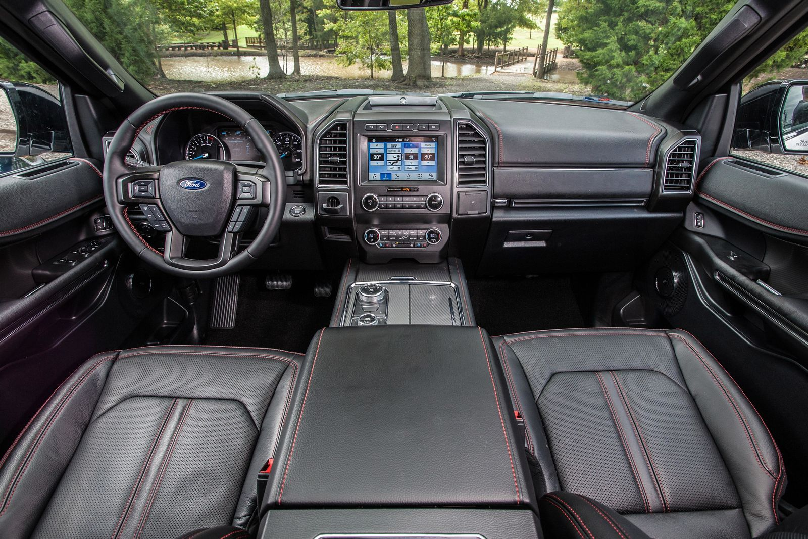 2019 Ford Expedition Stealth Edition Interior{ }(Photo: Ford)