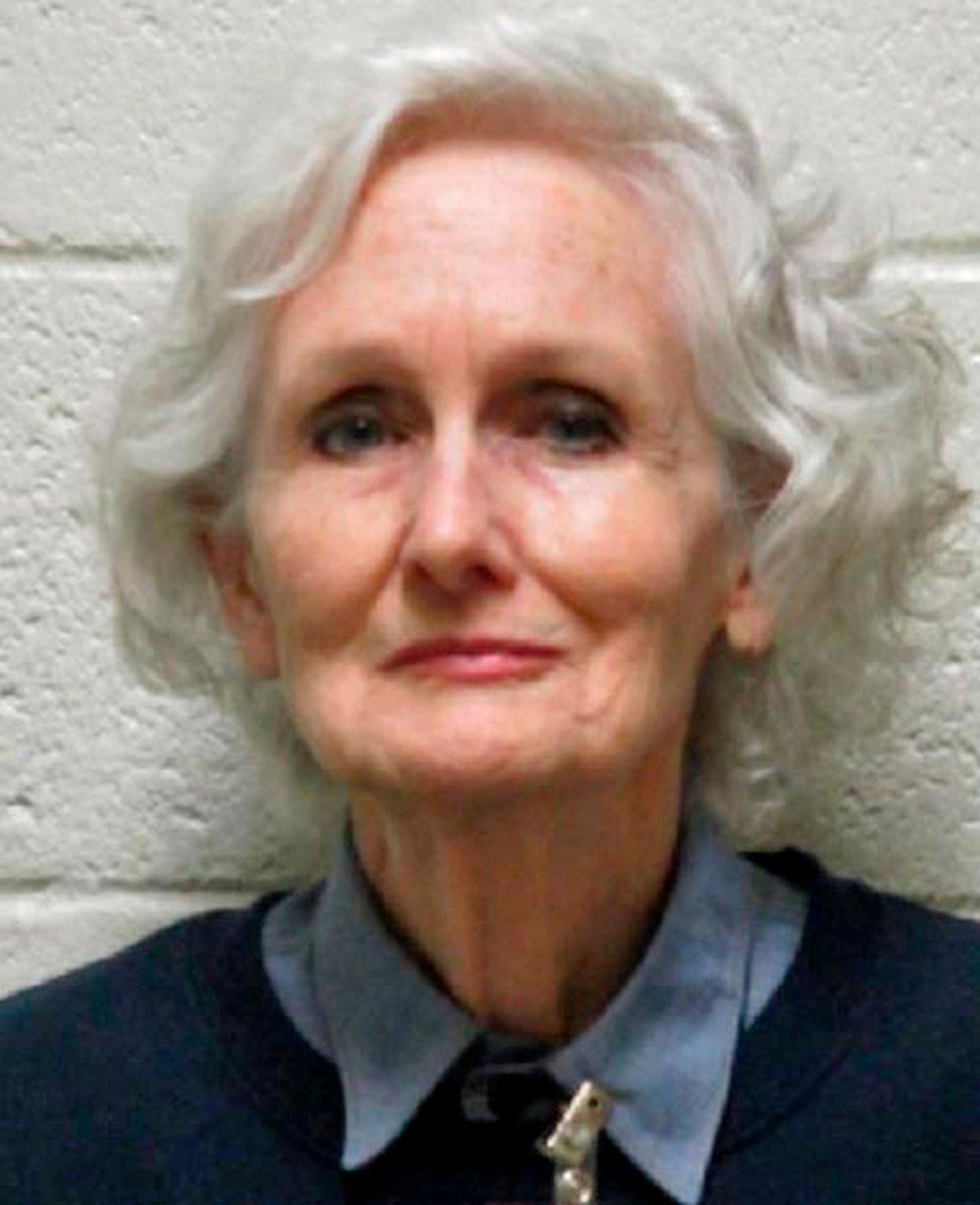 "This undated photo provided by the Nevada Department of Corrections shows Margaret Rudin, 76, the Las Vegas socialite dubbed a ""black widow killer,"" following the 1994 slaying of her millionaire husband and her years as a fugitive before her arrest in 1999. Rudin was released from prison Friday, Jan. 10, 2020, after winning parole from her 20-years-to-life sentence for the killing of real estate mogul Ron Rudin. She is appealing her 2001 murder conviction, maintaining that she is innocent. (Nevada Department of Corrections via AP)"