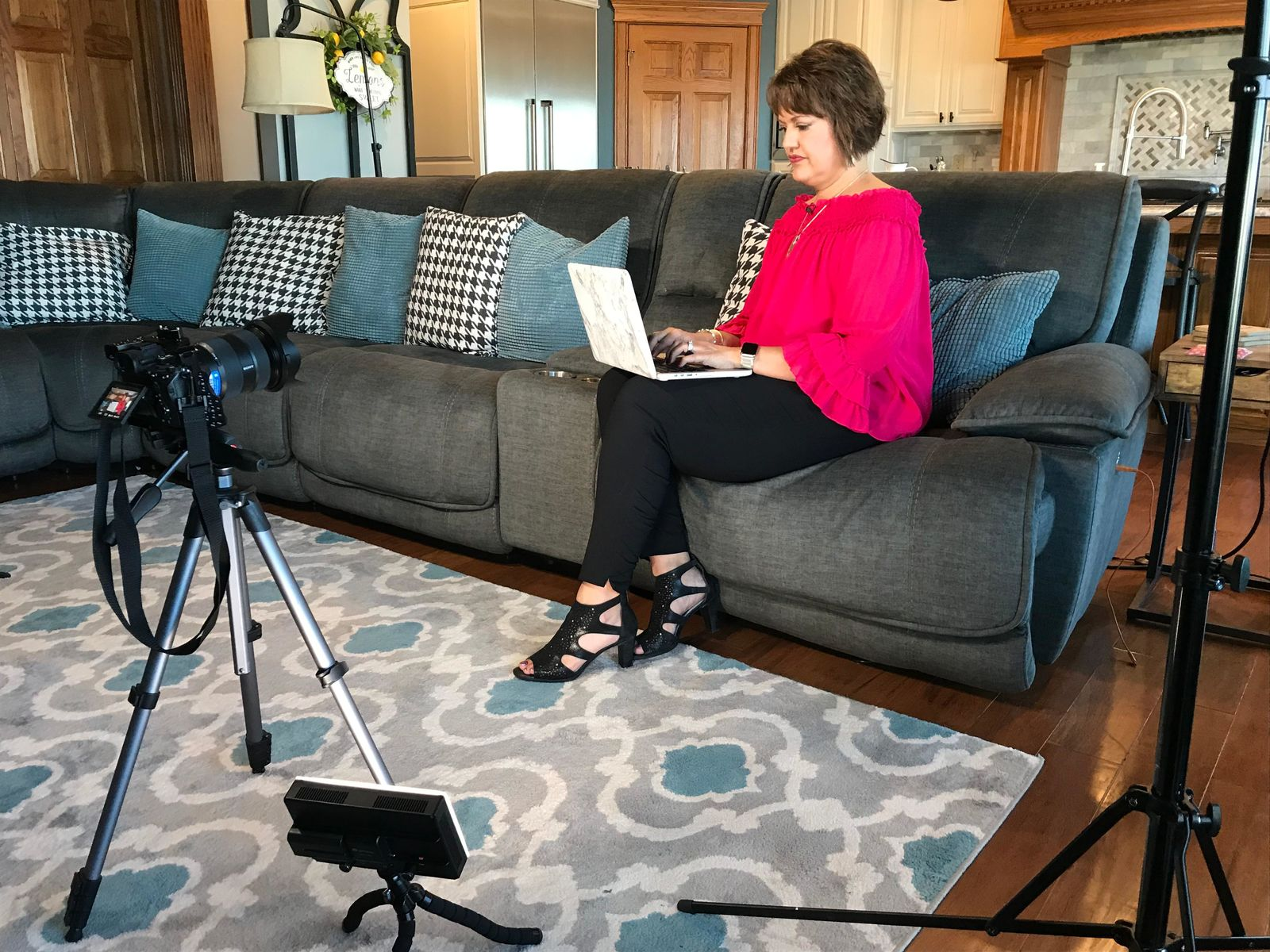 Raylene Hollrah has become a vocal advocate for awareness about BIA-ALCL (Photo: Alex Brauer, Sinclair Broadcast Group)