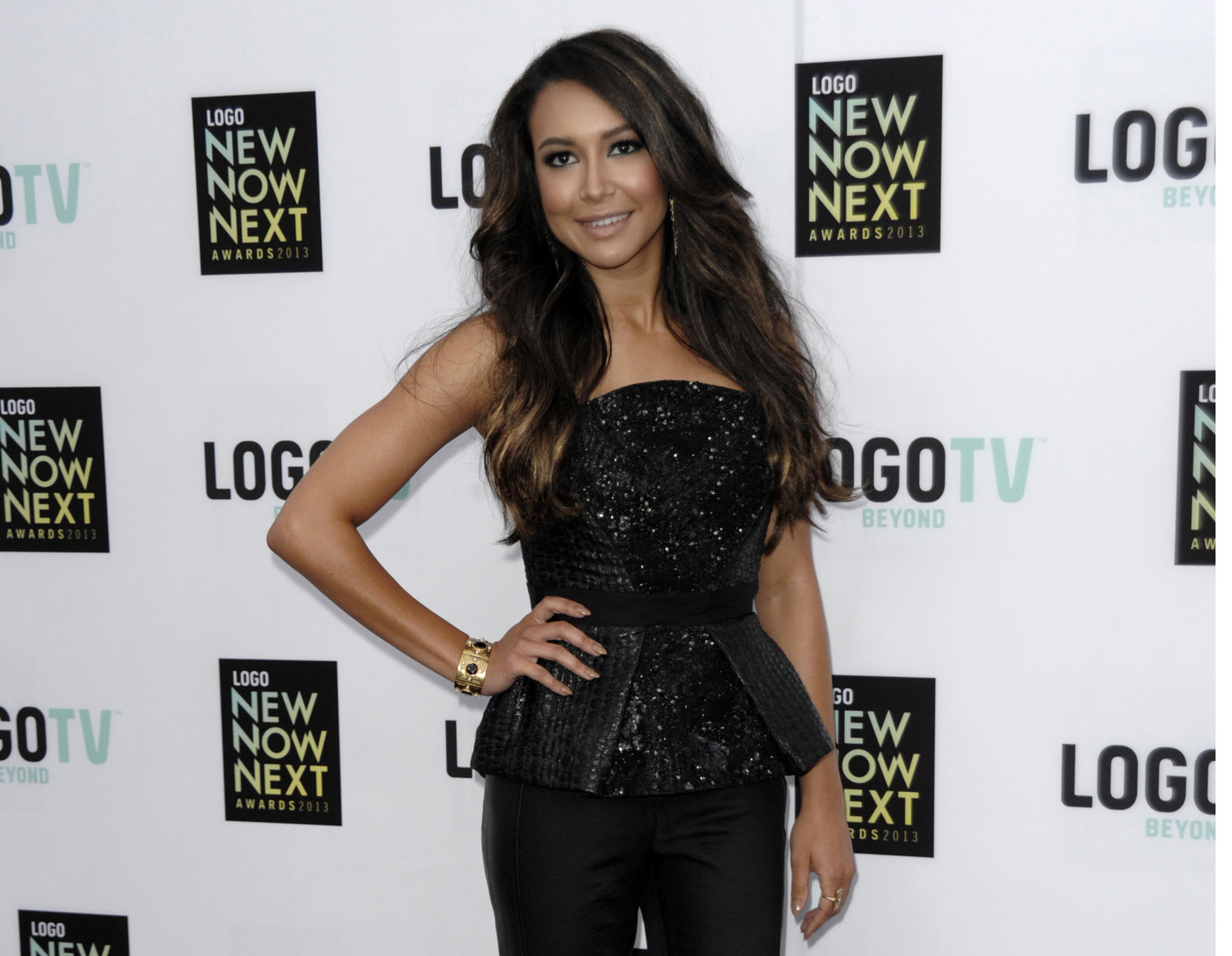 FILE - In this April 1,3 2013, file photo, actress Naya Rivera arrives at Logo's NewNowNext Awards in Los Angeles. (Photo by Dan Steinberg/Invision/AP, File)