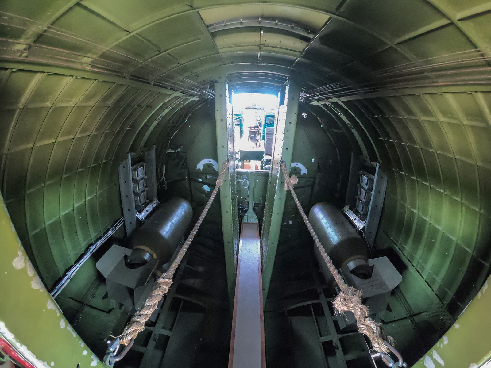 The Caldwell Airport will host a B-17 Bomber over the weekend of July 13 and 14. The Liberty Foundation is offering 30 minute flights for a fee in the historical aircraft. The B-17 is based on an Ye Odle Pub an iconic plane that made it through a harrowing mission and who the book A Higher Call is based upon. (Photos by Axel Quartarone){ }
