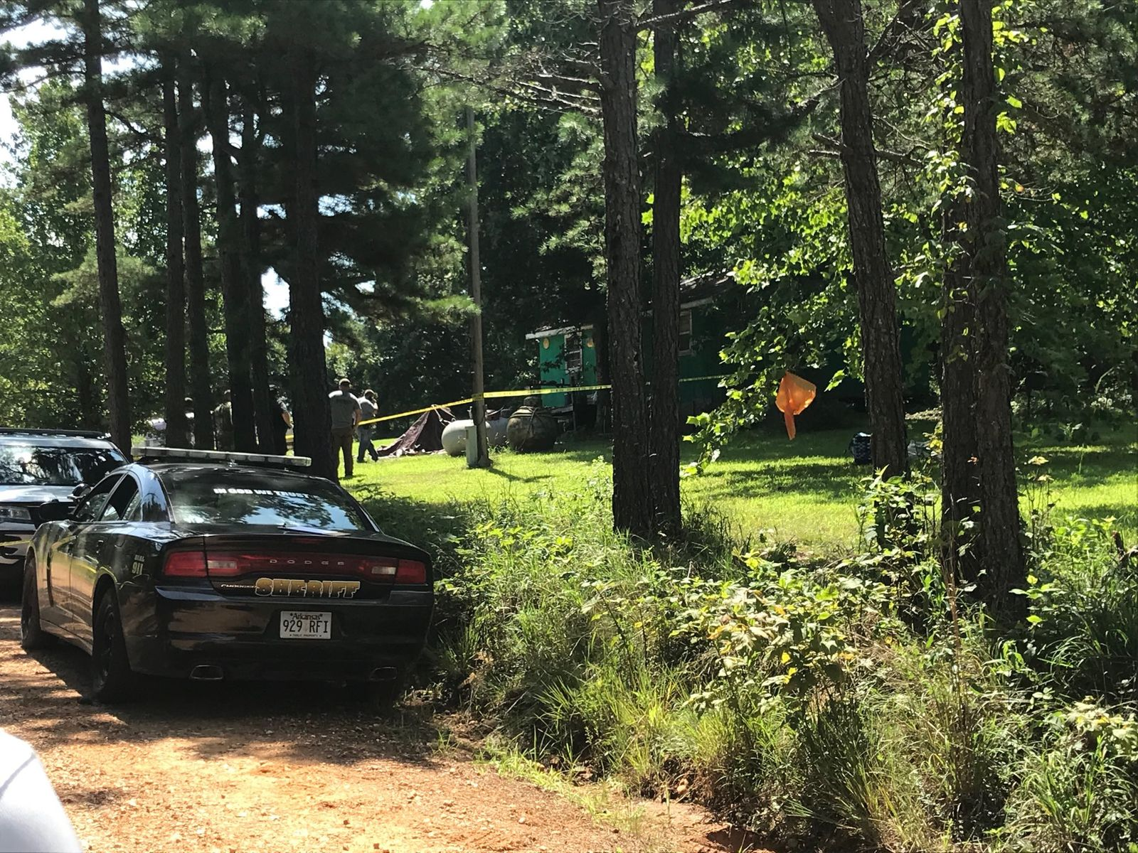 The scene of a deadly officer-involved shooting in Stone County (Photo: KATV){&nbsp;}<p></p>