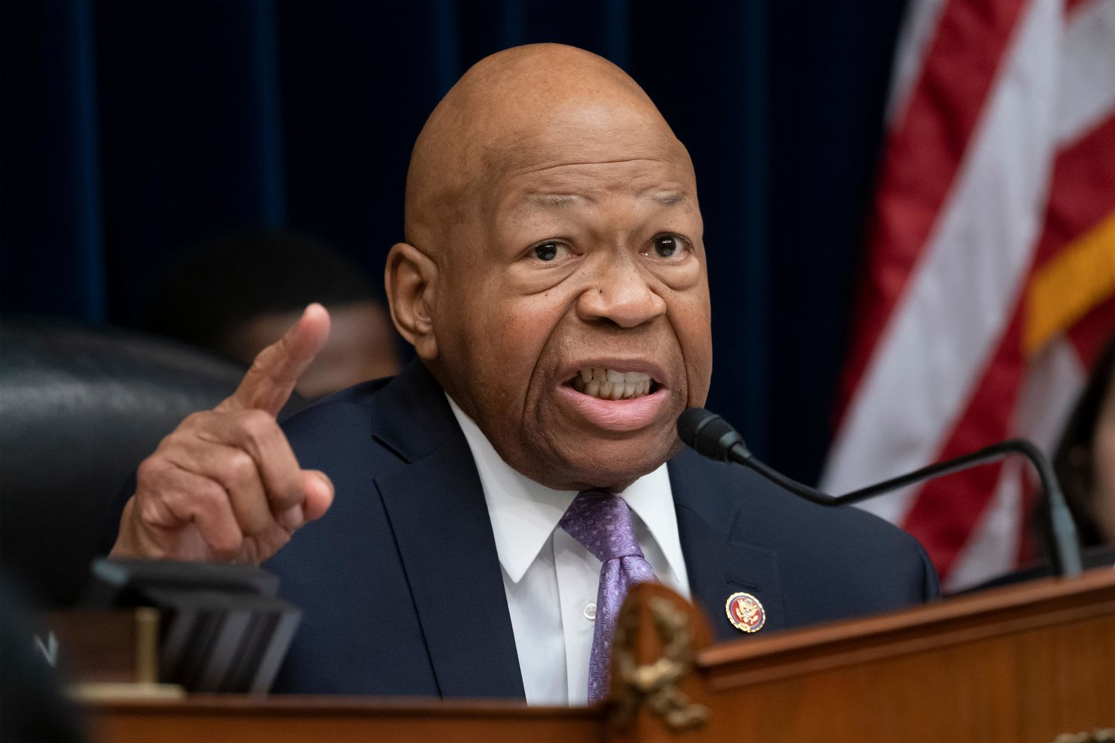 FILE - In this April 2, 2019, file photo, House Oversight and Reform Committee Chair Elijah Cummings, D-Md., speaks on Capitol Hill in Washington. (AP Photo/J. Scott Applewhite)