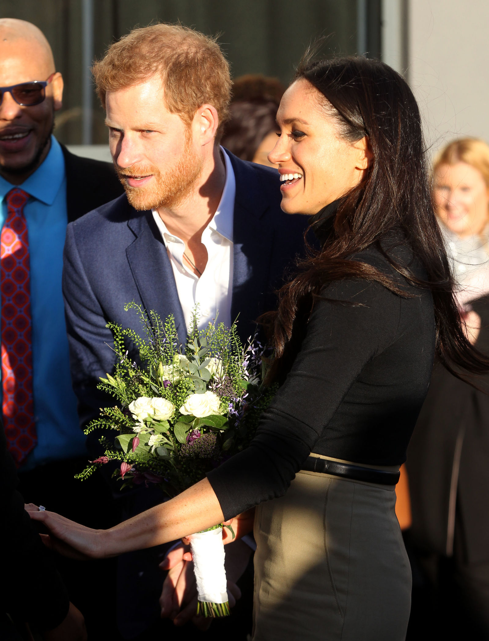 Prince Harry and Meghan Markle visit Nottingham Academy in support of the Full Effect programme, which supports children in the St Ann's area through a combination of early intervention, mentorship and training, to prevent them becoming involved in youth violence. Featuring: Prince Harry and Meghan Markle Where: London, United Kingdom When: 01 Dec 2017 Credit: Danny Martindale/WENN.com