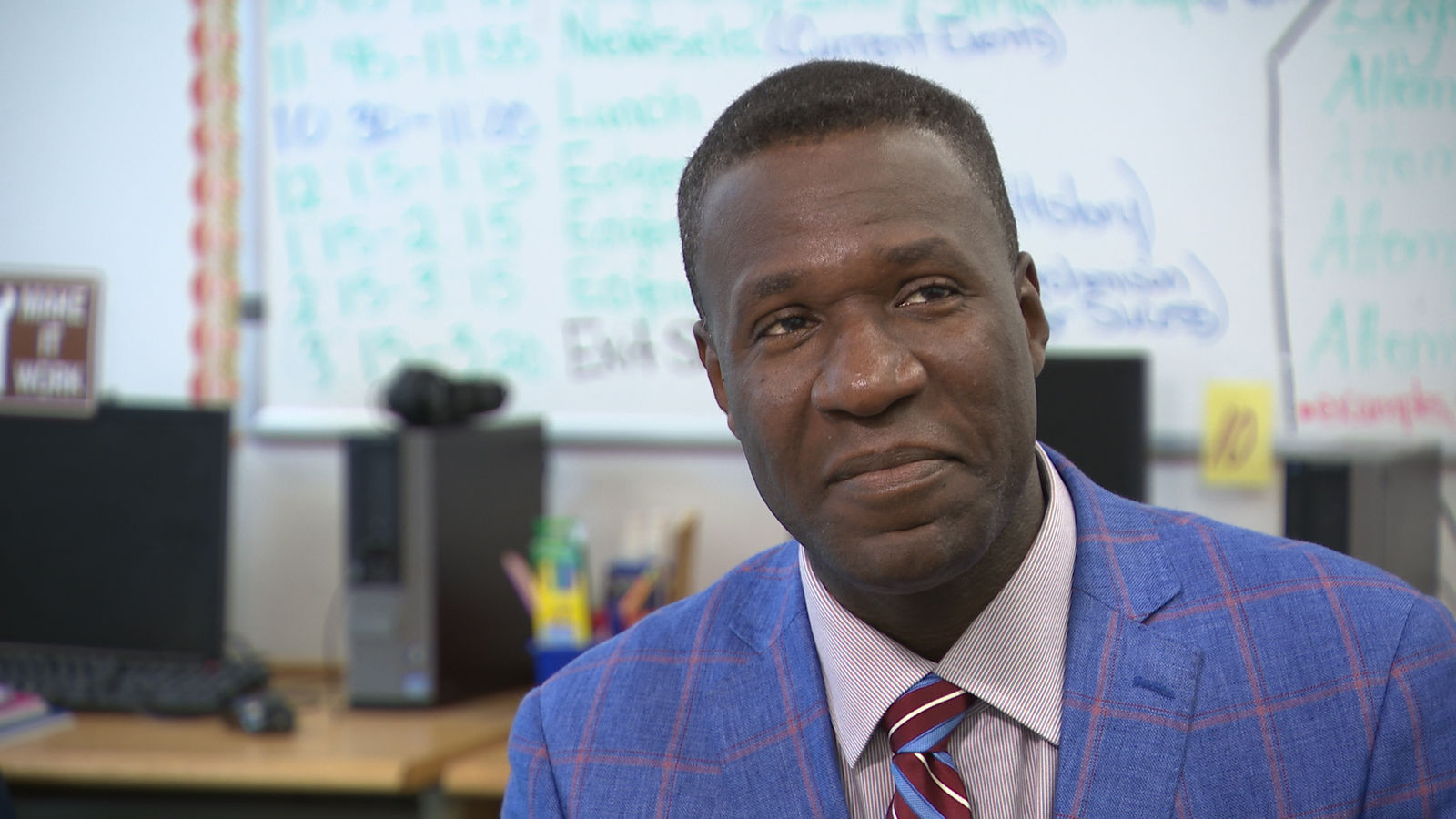 Dr. Art McCoy, Superintendent of the Jennings School District, talks about his trauma-informed approach to education (Photo: Alex Brauer, Sinclair Broadcast Group)