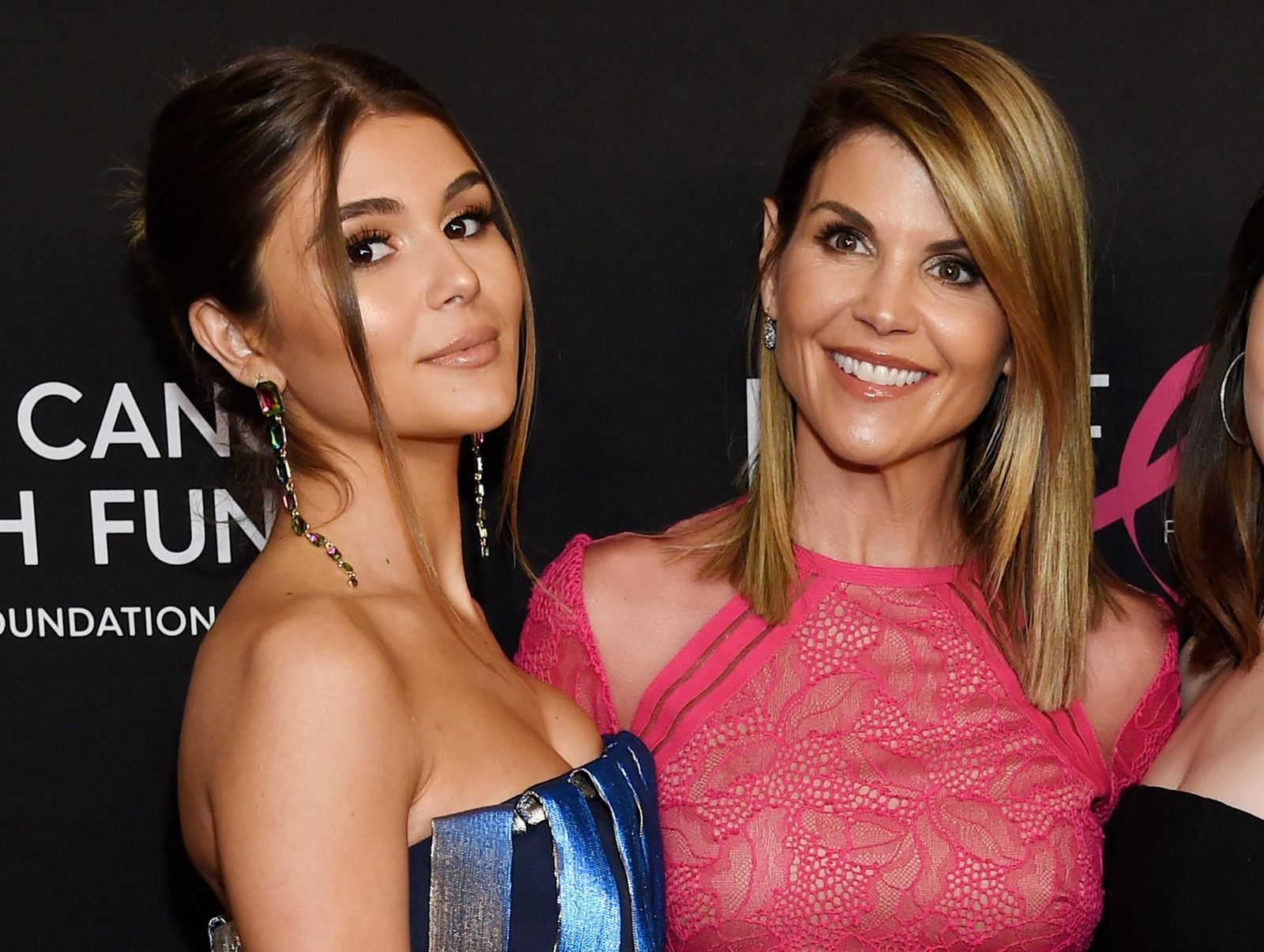 "FILE - In this Feb. 28, 2019 file photo, actress Lori Loughlin poses with her daughter Olivia Jade Giannulli, left, at the 2019 ""An Unforgettable Evening"" in Beverly Hills, Calif. (Photo by Chris Pizzello/Invision/AP, File)"
