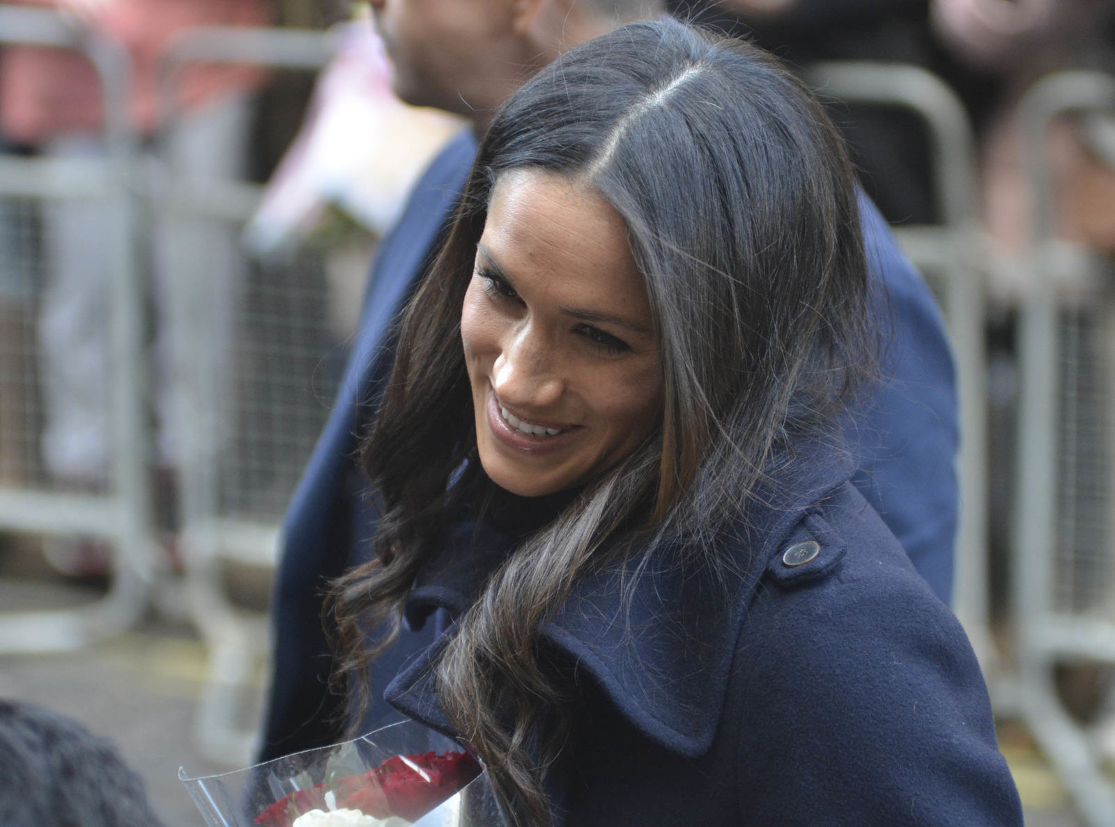 Prince Harry and Meghan Markle attend the Terrence Higgins Trust charity fair at the Nottingham Contemporary Centre                Featuring: Meghan Markle        Where: Nottingham, United Kingdom        When: 01 Dec 2017        Credit: WENN.com                *****No UK Tabloids & Tabloid Websites*****