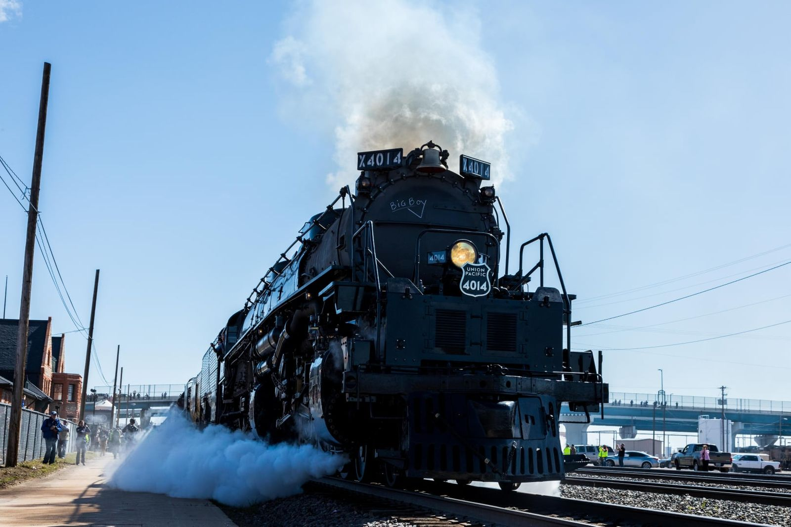 The world's largest steam locomotive, Big Boy No. 4014, is roaring its way into Oklahoma this weekend. (Courtesy of Union Pacific)