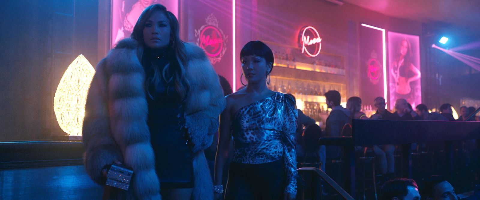 Jennifer Lopez and Constance Wu star in HUSTLERS{ }(Photo: STX Entertainment)