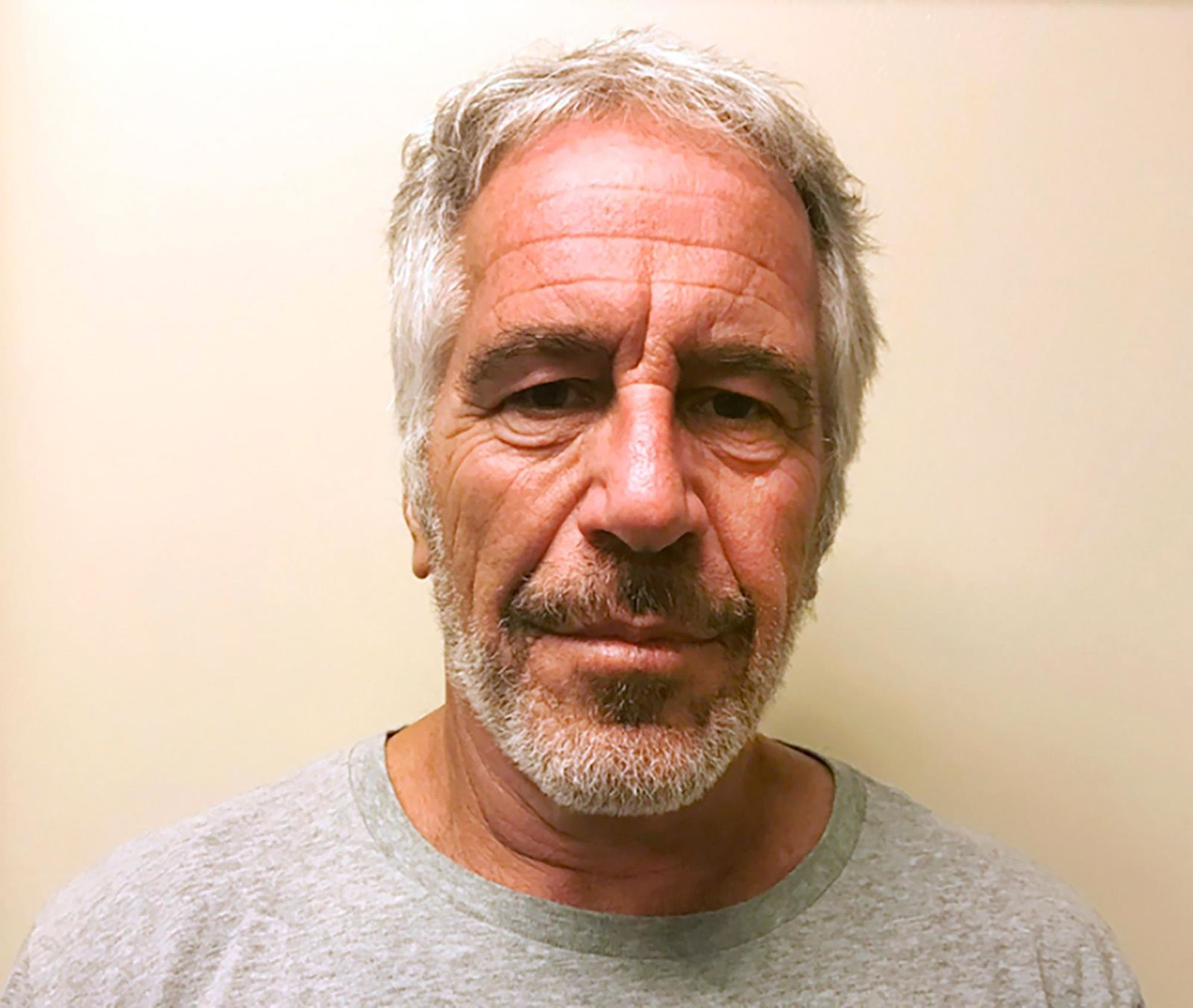 FILE - This March 28, 2017, file photo, provided by the New York State Sex Offender Registry shows Jeffrey Epstein.{ } { }(New York State Sex Offender Registry via AP, File)