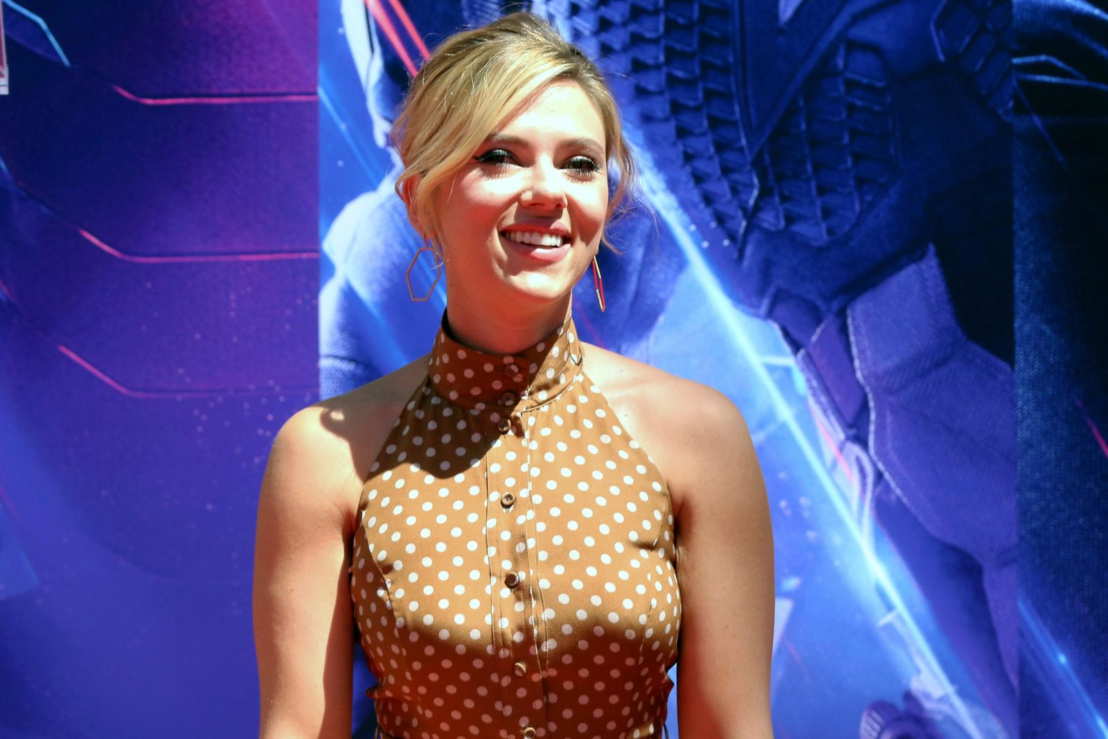 "FILE - In a Tuesday, April 23, 2019 file photo, Scarlett Johansson, a member of the cast of ""Avengers: End Game,"" appears at a hand and footprint ceremony at the TCL Chinese Theatre, in Los Angeles. Scarlett Johansson says comments she made on the ""authentic casting"" debate have been taken out of context and asserts that she supports diversity in film. In a recent interview with As If magazine, she said actors should be allowed to play any person ""because that is my job and the requirement of my job."" Johansson said Saturday, July 13, 2019 that those comments were subsequently edited in other publications for clickbait.  (Photo by Willy Sanjuan/Invision/AP, File)"
