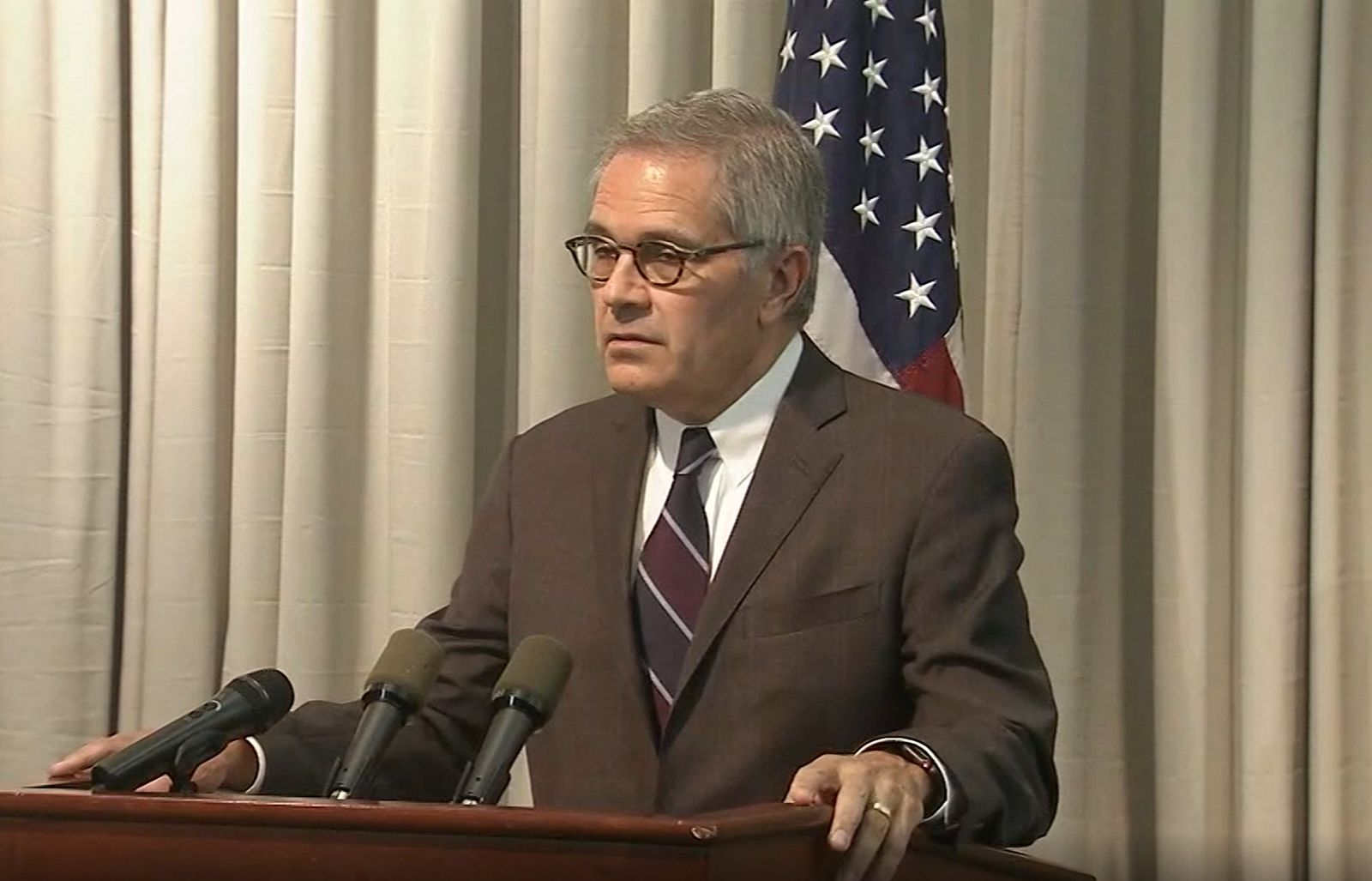 Philadelphia District Attorney Larry Krasner discusses the suspected gunman in an 8-hour shootout with police. (WPVI/CNN Newsource)