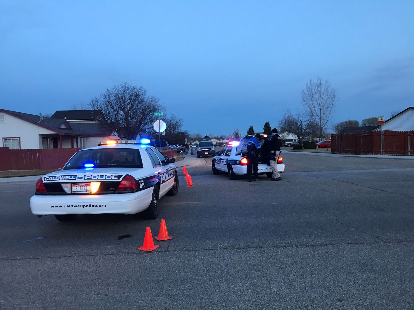 2 dead, 2 injured and 1 officer hurt after shots fired at Caldwell elderly apartments. (KBOI News Staff)