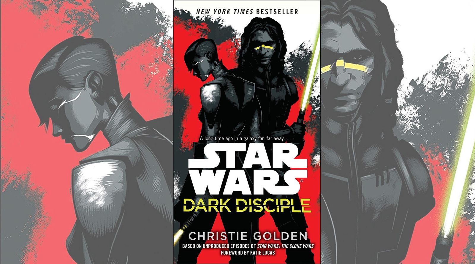 "Following the cancellation of ""The Clone Wars"" animated series, an unused storyline was adapted in the ""Star Wars: Dark Disciple"" novel. (Photo: Lucasfilm Press)"