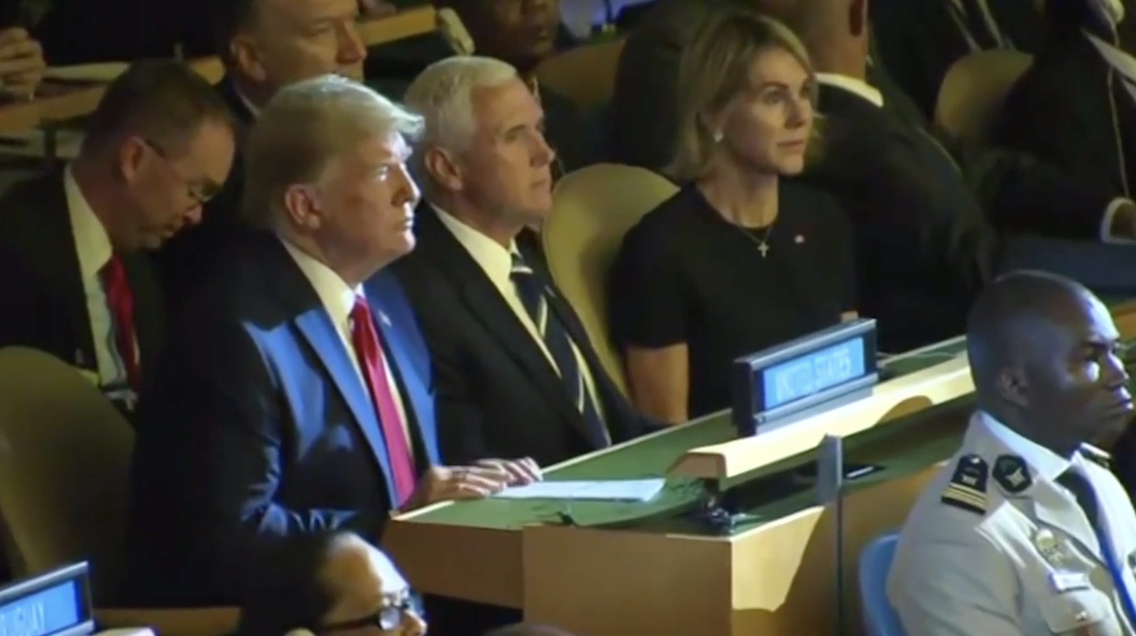 "In New York, as the United Nations General Assembly (UNGA) kicked off, President Donald Trump projected confidence, telling reporters, ""Our economy now is better than anybody's in the world."" (Photo: Sinclair Broadcast Group)"