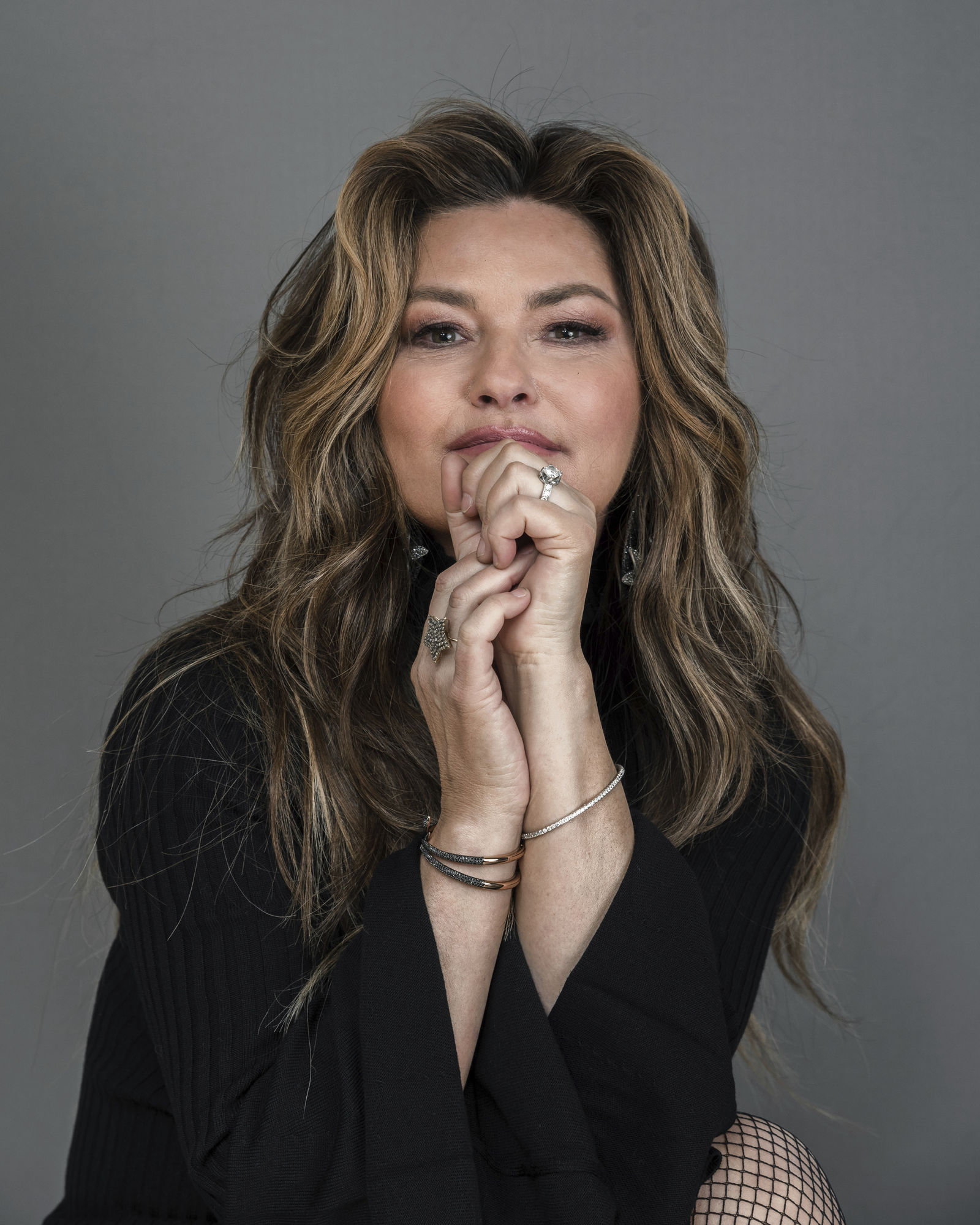 Shania Twain poses for a portrait at her Manhattan hotel, Friday, June 14, 2019, in New York.{ } (Photo by Christopher Smith/Invision/AP)