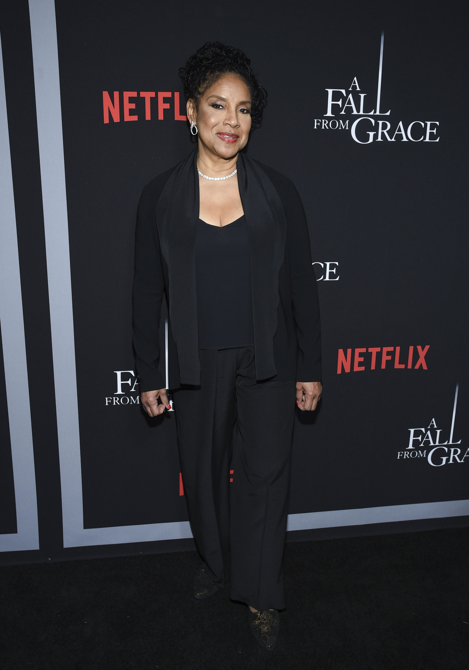 "Actress Phylicia Rashad attends the premiere of Tyler Perry's ""A Fall from Grace,"" at Metrograph, Monday, Jan. 13, 2020, in New York. (Photo by Evan Agostini/Invision/AP)"