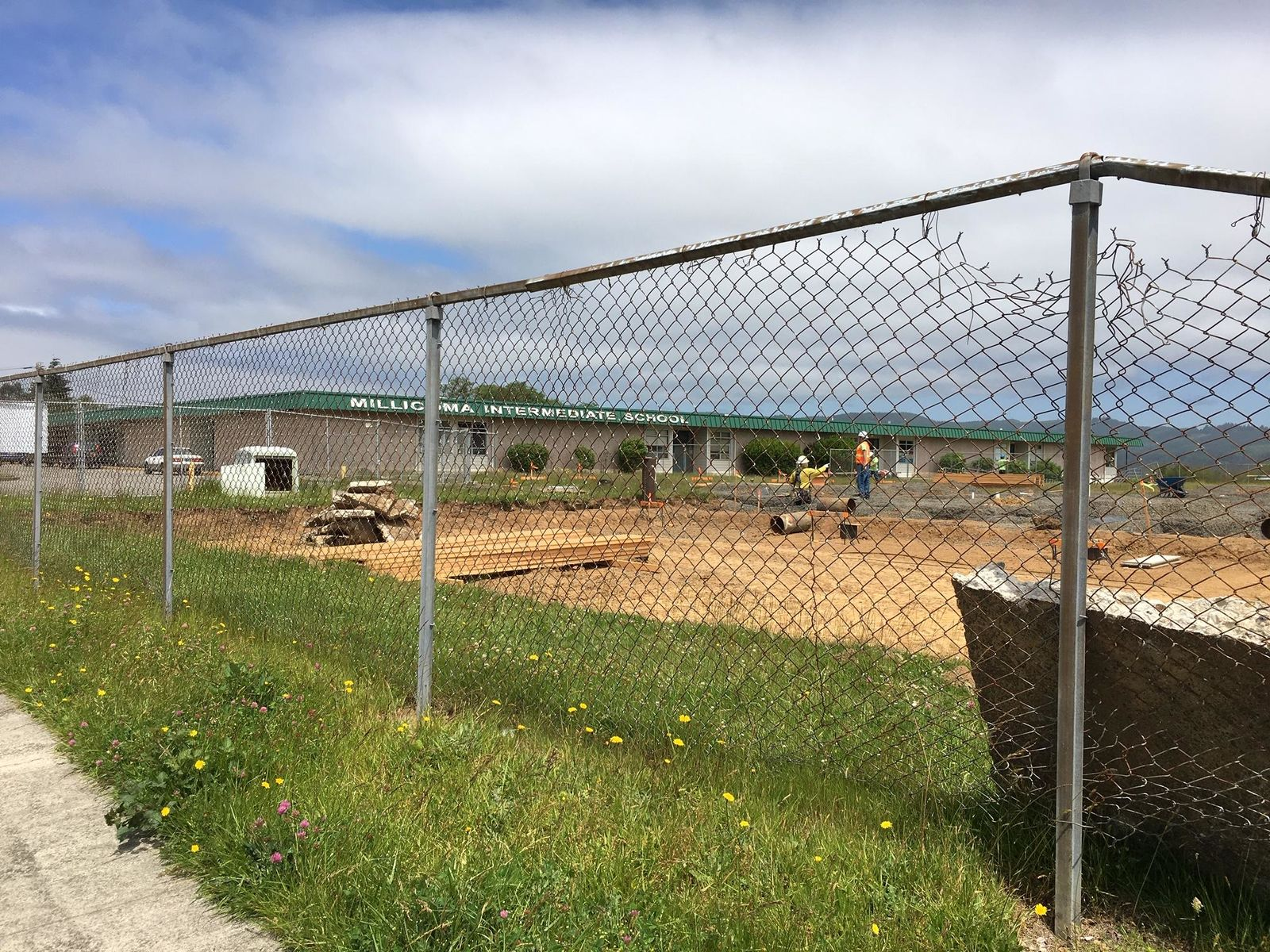 The Coos Bay School District is building new schools and making major improvements to existing facilities, June 13, 2019. (SBG)