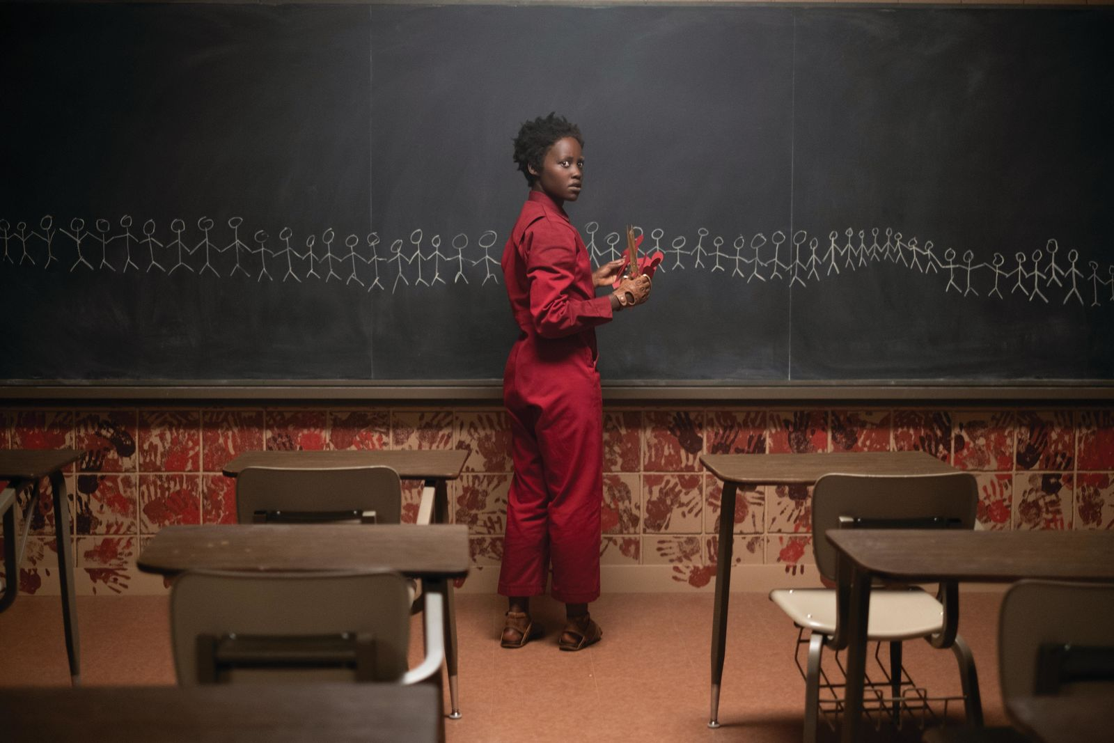 "Lupita Nyong'o as Adelaide Wilson doppelgänger Red in ""Us,"" written, produced and directed by Jordan Peele.{ }(Photo: Universal Pictures)"