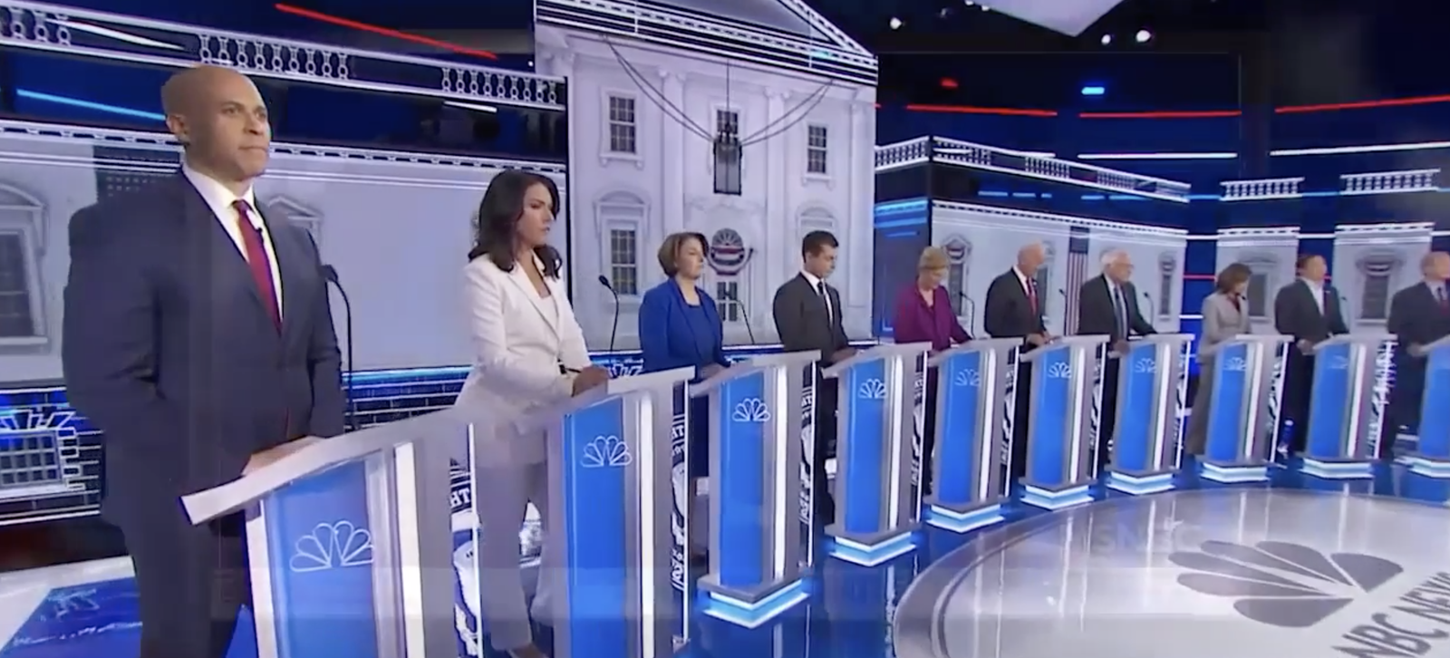While the impeachment inquiry into President Donald Trump continues to dominate Capitol Hill, Democratic candidates for president are gearing up to take the debate stage in Atlanta. (Photo: Sinclair Broadcast Group)