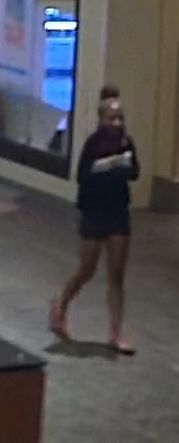 Metro Police searching for two theft suspects from Opry Mills Mall. Photo: Metro Police.<p></p>
