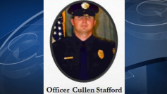 Birmingham Police Officer Cullen Stafford is a 9-year veteran of the department, he was shot multiple times in downtown Birmingham Wednesday night (ABC 3340)