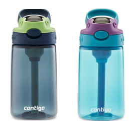 <p>Recalled water bottles in solid colors (other colors affected){&nbsp;}(Consumer Product Safety Commission)</p>