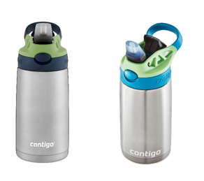 <p>Recalled stainless steel water bottles{&nbsp;}(Consumer Product Safety Commission)</p>