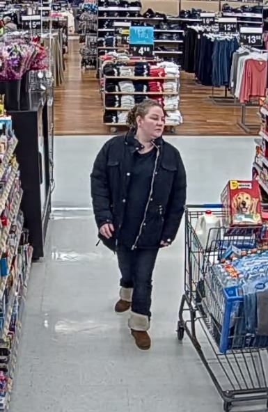 Warwick police are searching for a couple accused of using a stolen credit card at a Walmart. (Warwick Police Department)