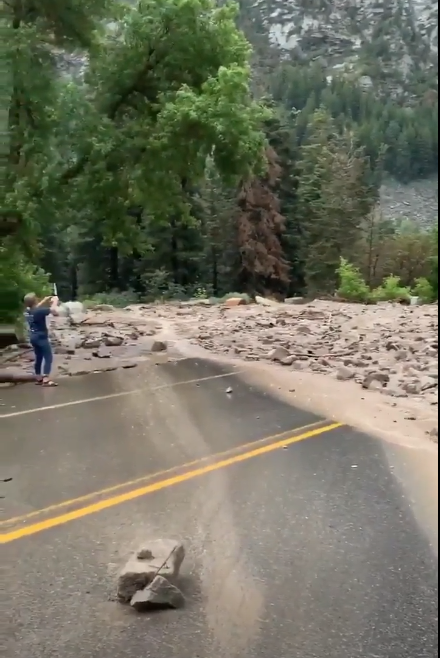 A Park City couple is speaking exclusively with 2News about how Mother Nature threw a wrench in their wedding plans. (Photo from video courtesy Annette Morrison)