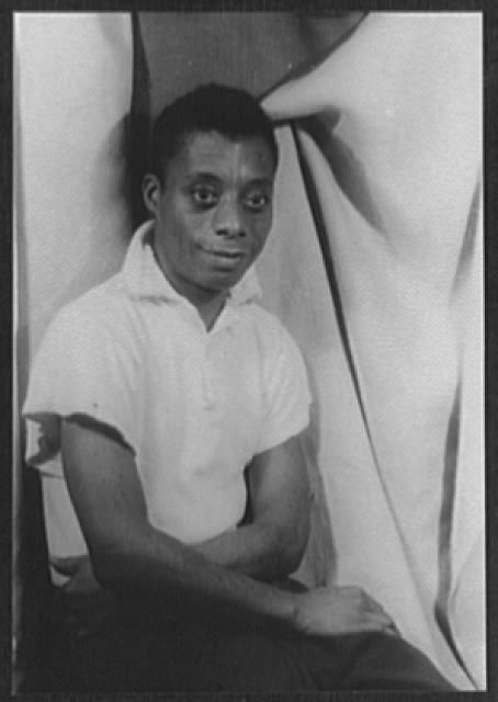 Portrait of James Baldwin, author and activist. Courtesy: Library of Congress{ }