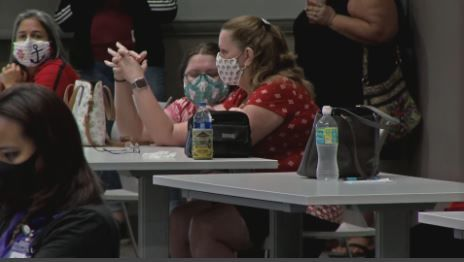 <p>On Tuesday, the St. Lucie County School Board met with members from the Health District of St. Lucie County to get a better understanding of what their relationship will look like once the school year begins. (WPEC)</p>