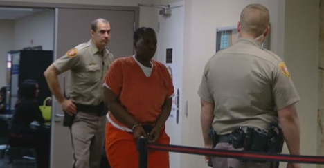 More than four months since the killing of Desean Tallent and his accused killer, Deionna Young still wears the orange jump suit. (KTUL)<p></p>