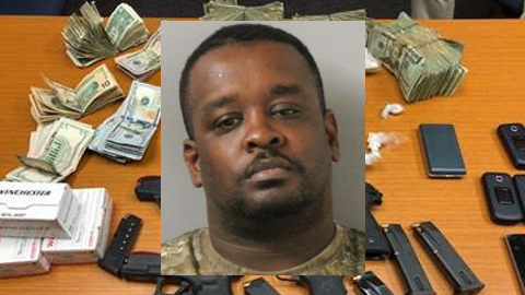 Man arrested at Nashville home with 2 lbs heroin, 4 pistols, $19k cash (MNPD)<p></p>