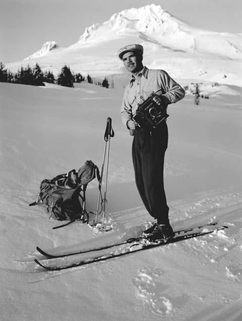 Ray Atkeson helped chronicle the birth of the modern ski industry.{ }(Photo used with permission University of Oregon Libraries)
