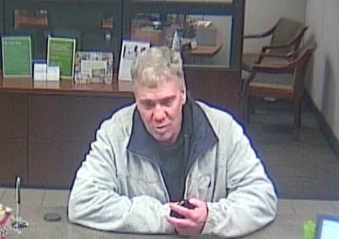 The Metro Nashville Police Department is seeking assistance locating a man accused of robbing a Regions Bank on Lebanon Pike in Donelson on Saturday. (PHOTO: Metro Police).