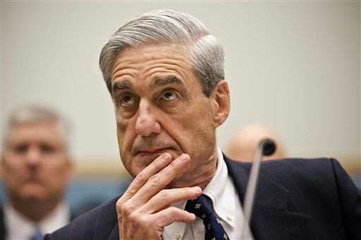 FBI Director Robert Mueller listens as he testifies on Capitol Hill in Washington, Thursday, June 13, 2013, as the House Judiciary Committee held an oversight hearing on the FBI. (AP Photo/J. Scott Applewhite)