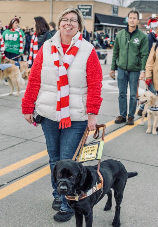 Hero Dog Lady helps Dawn Rudolph of Hamilton, Michigan, live her everyday life. She was named the nation's Top Guide/Hearing Dog of the year, and she's one of seven finalists for the 2019 American Hero Dog of the Year Award. (American Humane)
