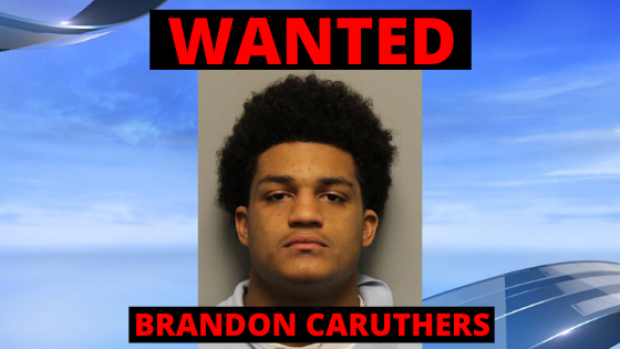 Brandon Caruthers is wanted by the TBI, Metro Police. (Metro PD photo).png