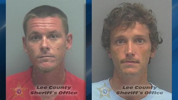 <p>A Florida Fish and Wildlife Conservation Commission news release says 39-year-old Michael Boesenberg and 23-year-old Michael Clemons were arrested this week and face multiple poaching-related charges. (Lee County Sheriff's Office){&nbsp;}</p>